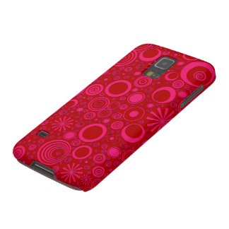Rounds, Pink-Red Samsung Galaxy s5 Case