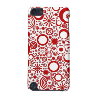 Rounds, Red-White iPod Touch 5g Case