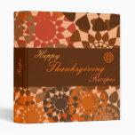Rounds Thanksgiving Recipe Binder