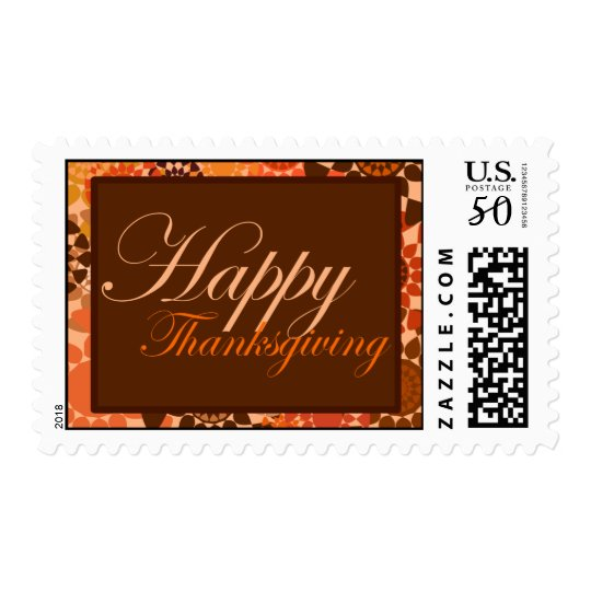 Rounds Thanksgiving Stamp