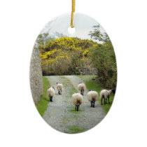 Roundstone Rush Hour Ceramic Ornament