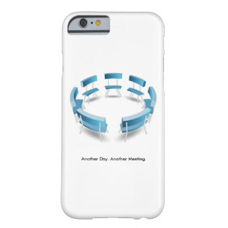 Roundtable Meeting Discussion Vector Barely There iPhone 6 Case