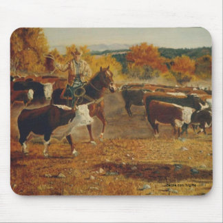 Roundup Mouse Pad