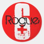 Roundy Sticker