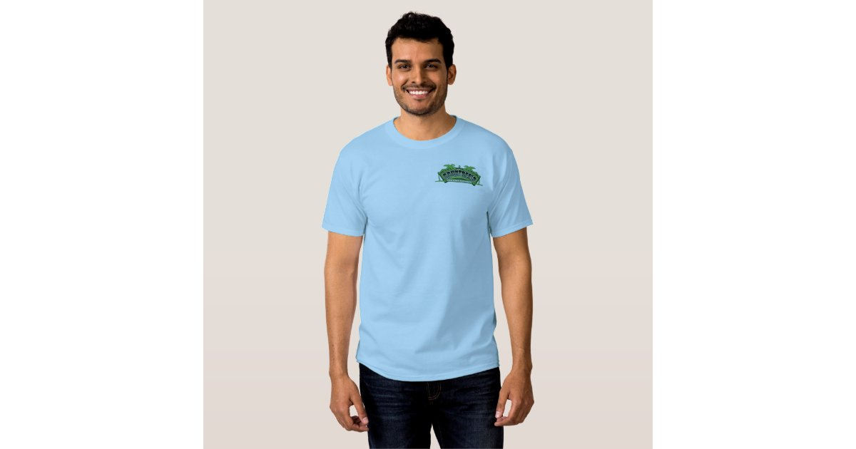 Rountree 39 s lawn maintenance t shirt zazzle for Lawn care t shirt designs