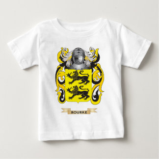 Rourke Coat of Arms (Family Crest) Baby T-Shirt