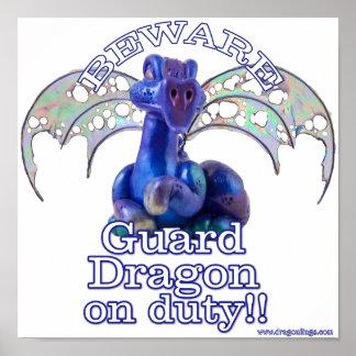 Rourke : Guard Dragon On Duty Poster