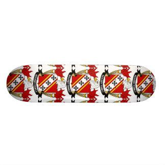 Rousby Family Crest Skate Board