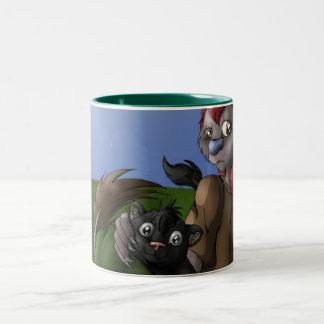 Rousoe & Kenji mug