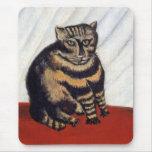 Rousseau - el gato de tigre alfombrillas de ratones