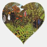 Rousseau - Exotic Landscape Sticker