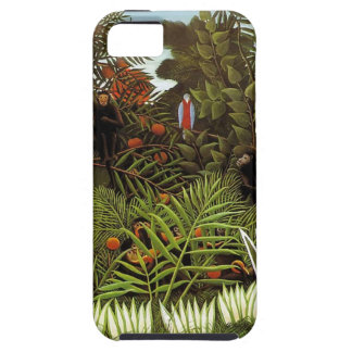 Rousseau.  Jungle.  Monkeys. iPhone 5 Cover