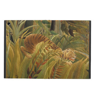 Rousseau Jungle Tropical Tiger Art Print Painting iPad Air Case
