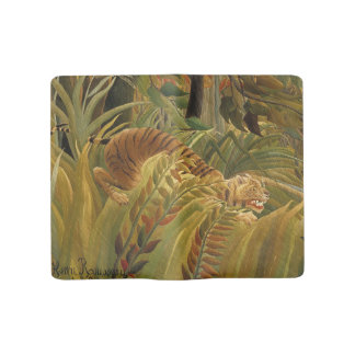 Rousseau Jungle Tropical Tiger Art Print Painting Large Moleskine Notebook