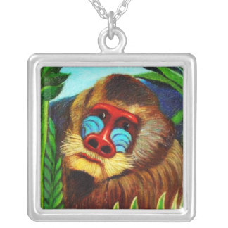 Rousseau - Mandril in the Jungle (Adaptation) Jewelry