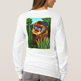 Rousseau - Mandril in the Jungle (Adaptation) T-Shirt
