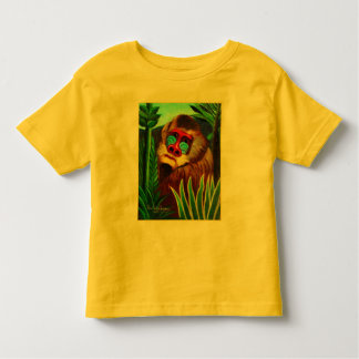 Rousseau - Mandril in the Jungle (Adaptation) Toddler T-shirt
