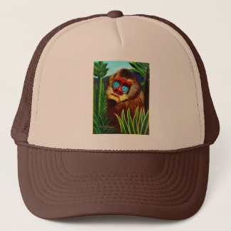 Rousseau - Mandril in the Jungle (Adaptation) Trucker Hat