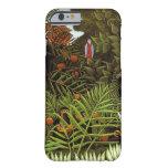Rousseau - paisaje exótico funda de iPhone 6 barely there