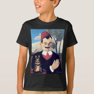 Rousseau - Portrait of Pierre Loti Man with Cat T-Shirt