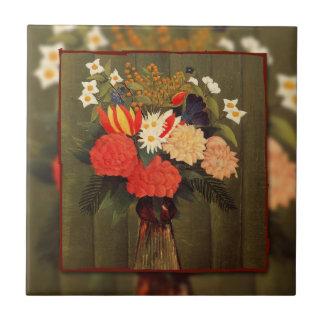 Rousseau, ramo de Flowers (1909) Azulejo
