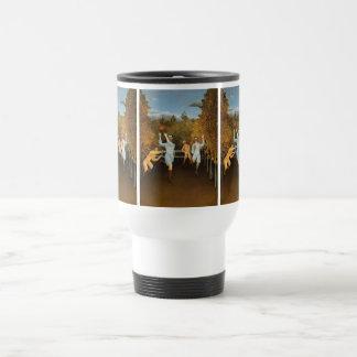Rousseau's Football Players mugs - choose style