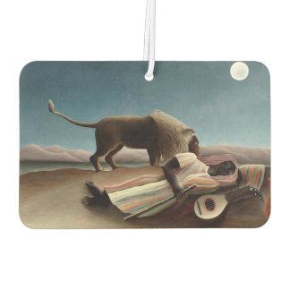 Rousseau's Sleeping Gypsy art air freshner Car Air Freshener
