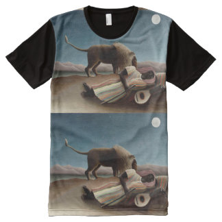Rousseau's Sleeping Gypsy art t-shirt