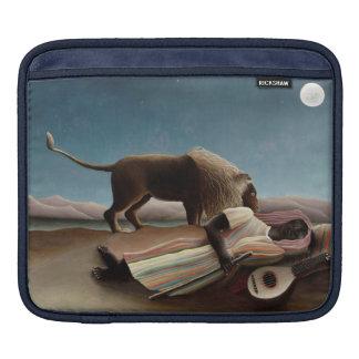 Rousseau's Sleeping Gypsy iPad sleeve