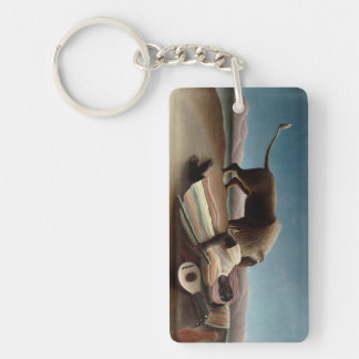 Rousseau's Sleeping Gypsy key chain