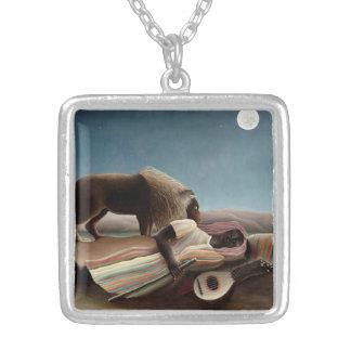 Rousseau's Sleeping Gypsy necklace
