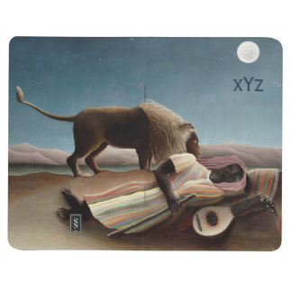 Rousseau's Sleeping Gypsy pocket journal