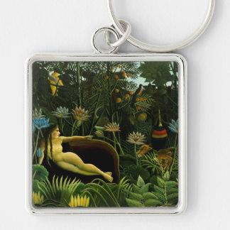 "Rousseau's ""The Dream"" key chain"