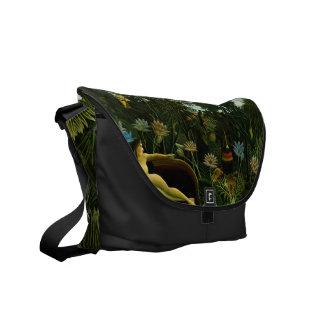 """Rousseau's """"The Dream"""" messenger bag"""