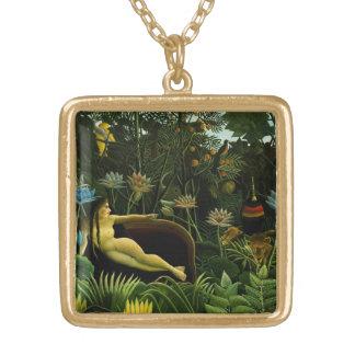 """Rousseau's """"The Dream"""" necklace"""