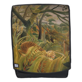 Rousseau's Tiger art backpack