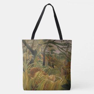 Rousseau's Tiger art bags