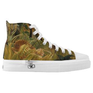 Rousseau's Tiger art shoes