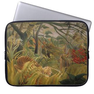 Rousseau's Tiger laptop sleeve