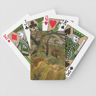 Rousseau's Tiger playing cards