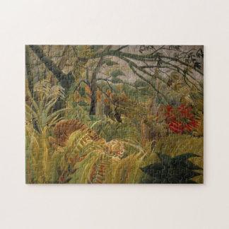 Rousseau's Tiger puzzle