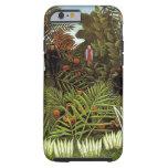 Rousseau. Selva. Monos Funda De iPhone 6 Tough