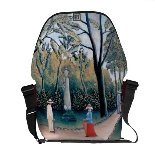 Rousseau - The Luxembourg Gardens Courier Bag