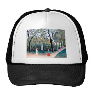Rousseau - The Luxembourg Gardens Mesh Hats
