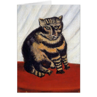 Rousseau - The Tiger Cat Greeting Card