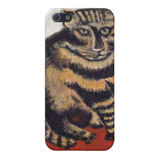 Rousseau - The Tiger Cat iPhone 5 Covers