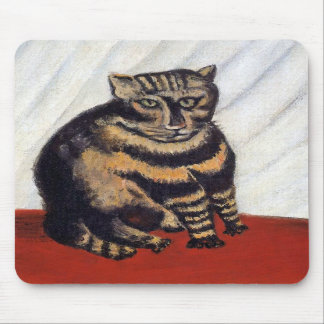 Rousseau - The Tiger Cat Mouse Pads