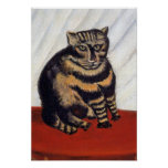 Rousseau - The Tiger Cat Poster