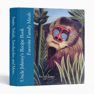 """Rousseau's """"Mandrill in the Jungle"""" (circa 1909) Binder"""