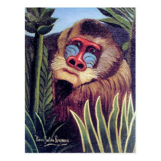 "Rousseau's ""Mandrill in the Jungle"" (circa 1909) Postcard"